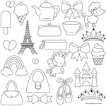 Sweet Elite Pretty Things Pattern Sheets by Autumn Carpenter