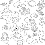 Sweet Elite Under the Sea Pattern Sheets by Autumn Carpenter