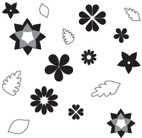 Sweet Elite Flower and Leaves Pattern Sheets by Autumn Carpenter