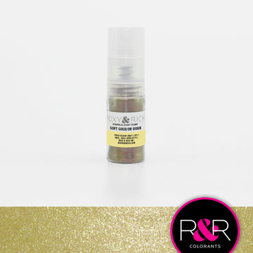 Soft Gold Sparkle Dust Pump by Roxy & Rich 4g