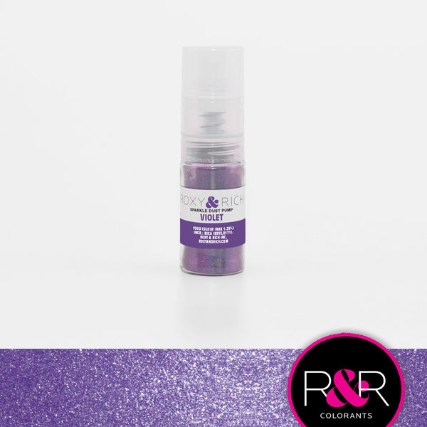 Violet Sparkle Dust Pump by Roxy & Rich 4g