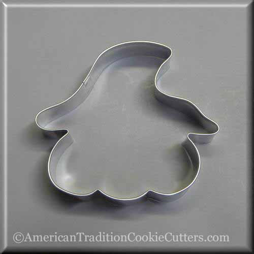 Cookie Cutter Pumpkin in Hat 4""