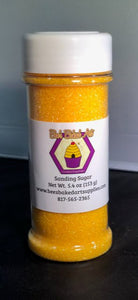 Bee's Sanding Sugar 5.4 oz - Yellow