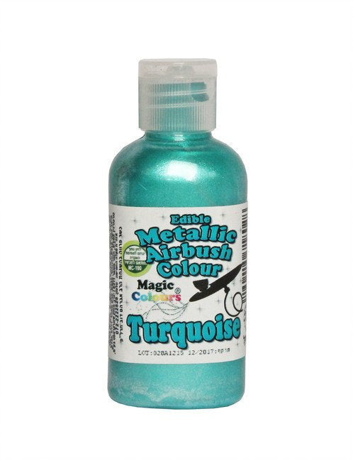 Magic Colours Metallic Airbrush Paint 55 ml - Turquoise