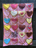 Cookies are Made of Butter and Love Tea Towel