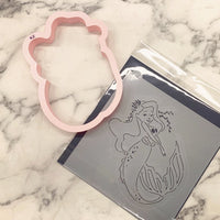 The Claire Mermaid Stencil Cutter Combo By Killer Zebras