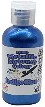 Magic Colours Metallic Airbrush Paint 55 ml - Indigo Blue