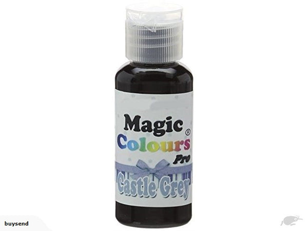 Magic Colours Pro Gel Color 32g - Castle Grey