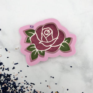 Rose Stencil Cutter Combo By Killer Zebras