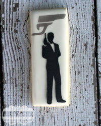 James Bond 007 cookie