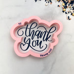 Thank You Hand Lettered Stencil Cutter Combo By Killer Zebras