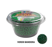 "Glitter Pearls ""Perlas Diamantadas"" 100 gm - Flag Green"