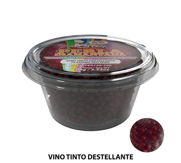 "Glitter Pearls ""Perlas Diamantadas"" 100 gm - Flashing Red Wine"