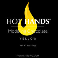 Yellow Hot Hands Modeling Chocolate Mini Pack 6 oz