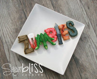 Blyss Zombies (spelled out) Cookie Cutters by TMP