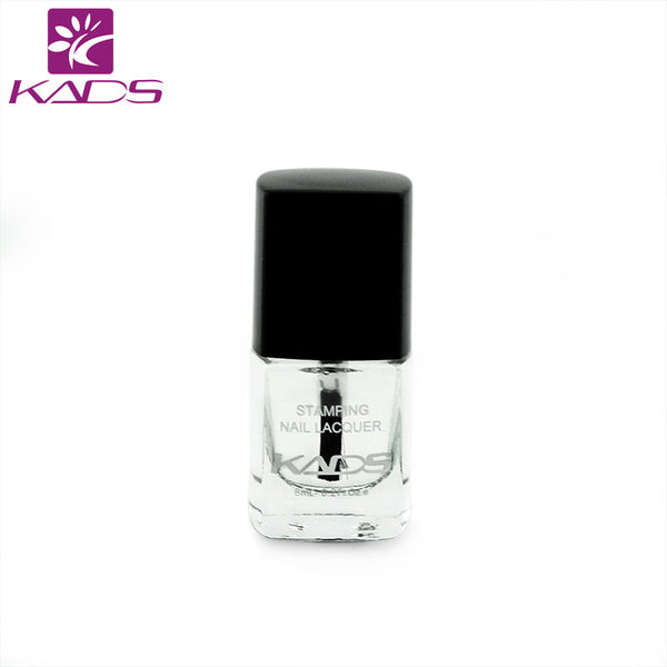 NEW 6ml Smudge Resistant Top Coat For Nail Polish Nail Stamping Top Coat To Make The Printing More Bright Design
