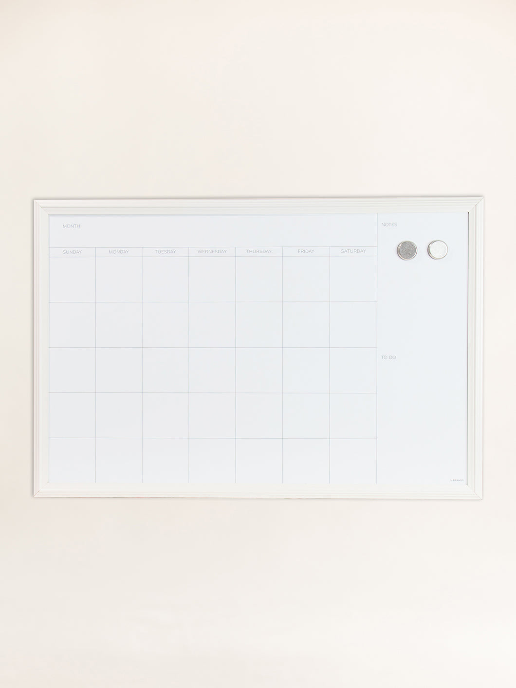 Farmhouse Dry Erase Calendar Board, 20