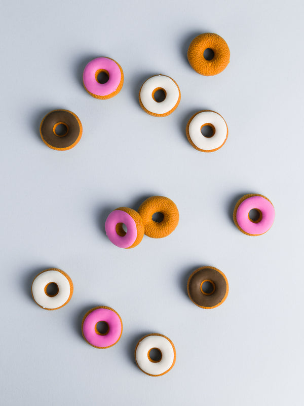 Donut Erasers, Set of 12