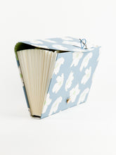 Bold Floral 13 Pocket Expandable File, Blue