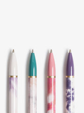 Soft Dye Monterey Ballpoint Pens, Set of 4
