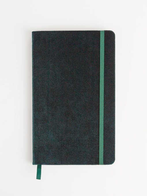 Fleuri Velvet Journal, Green
