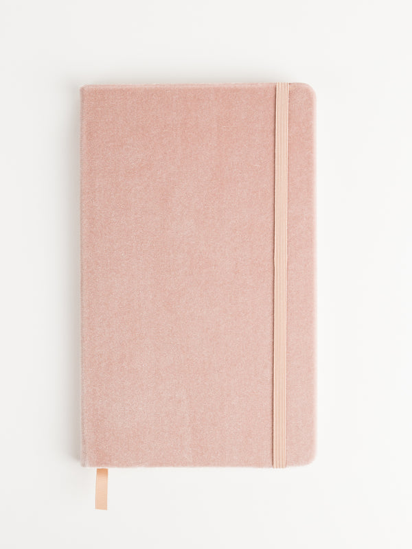 Fleuri Velvet Journal, Blush
