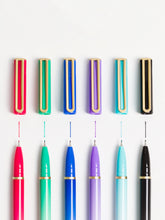 Catalina Colored Ink Felt Tip Pens, Set of 6