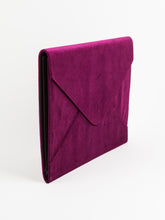 Fleuri Velvet Document Holder