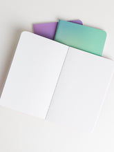 Ombre Iridescent Notebooks, Set of 3
