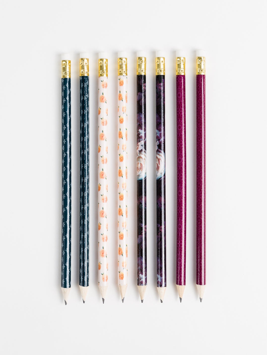 Fleuri Pencils, Set of 8
