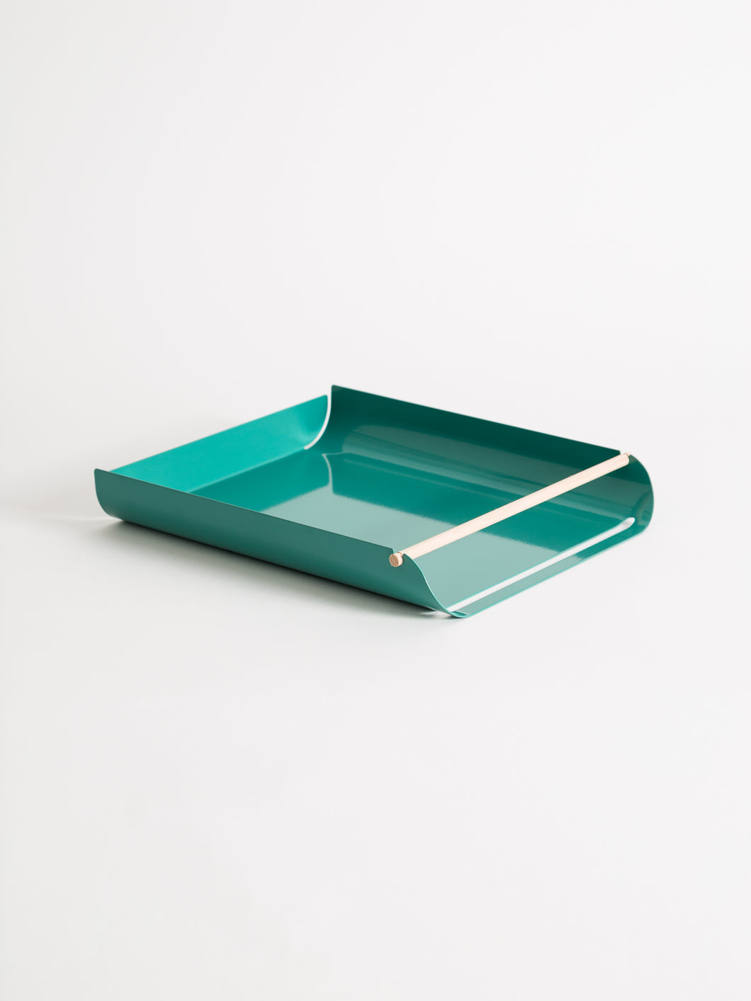 Arc Paper Tray, Green