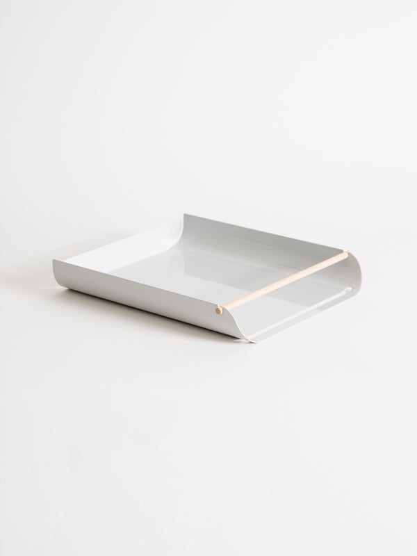 Arc Paper Tray, Grey