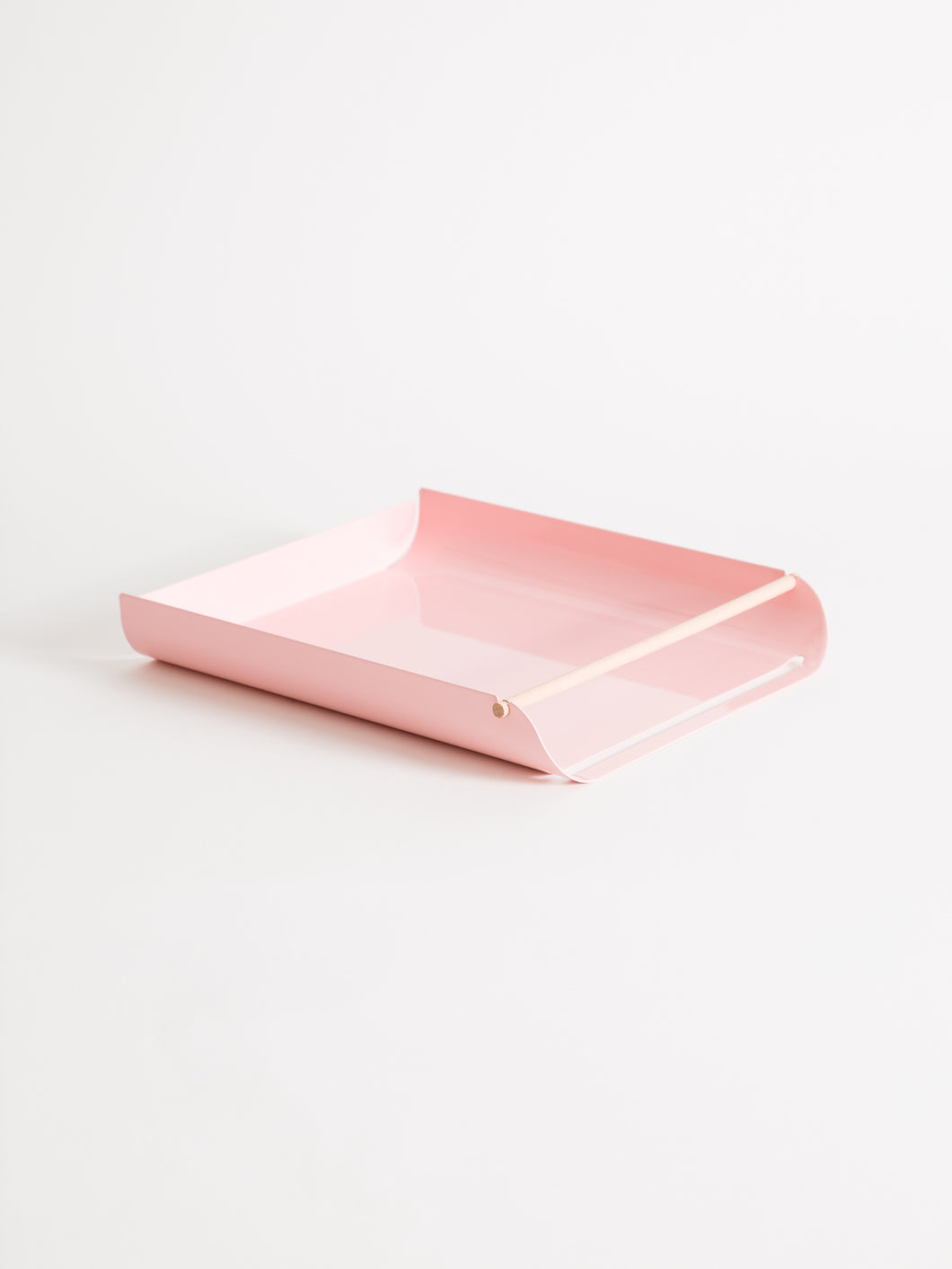 Arc Paper Tray, Blush