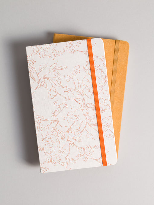 Fresh Foliage 2-Pack Combo Journal Set, Lined & Dotted Pages