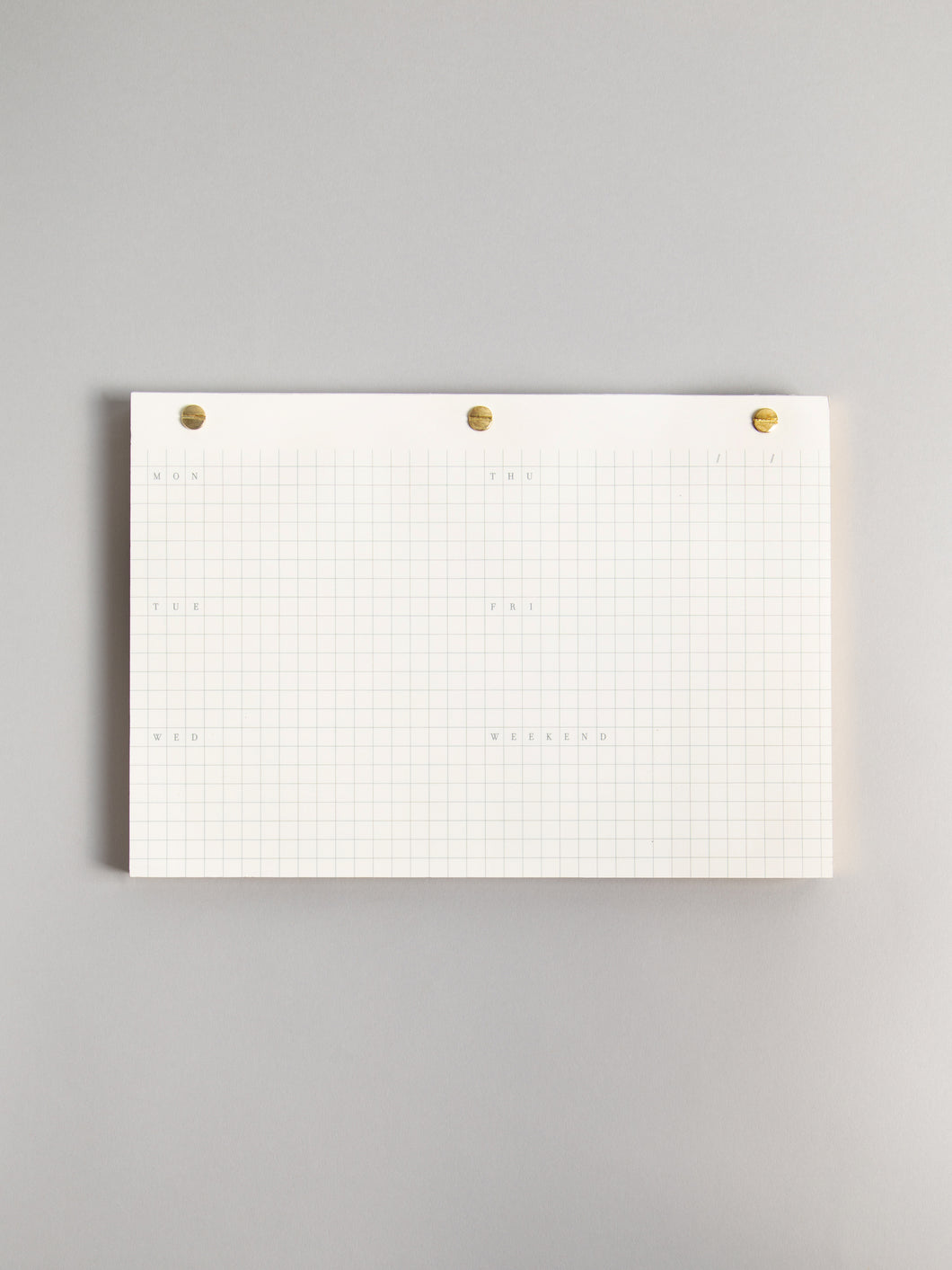 Modern + Classic Weekly Desk Notepad