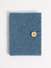 Fuzzy Blue Sherpa Hardcover Journal
