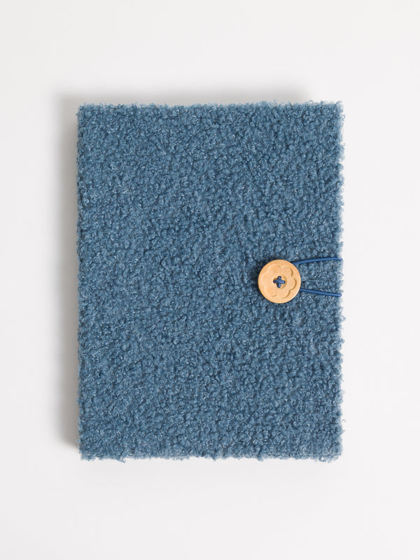 Teal Sherpa Hardcover Journal