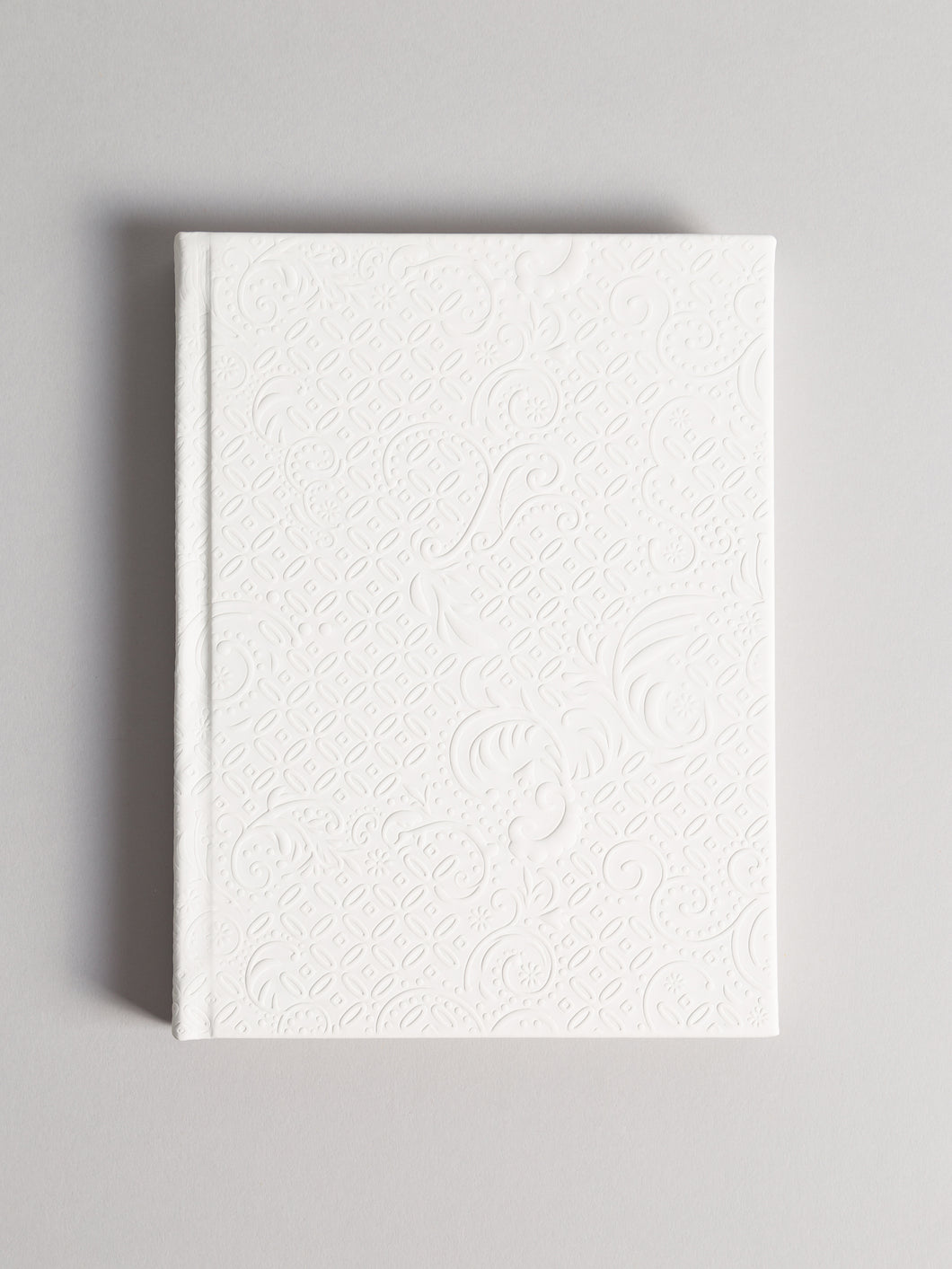 Like A Boss Weekly Plournal, Embossed Soft Touch Cover, White,  6
