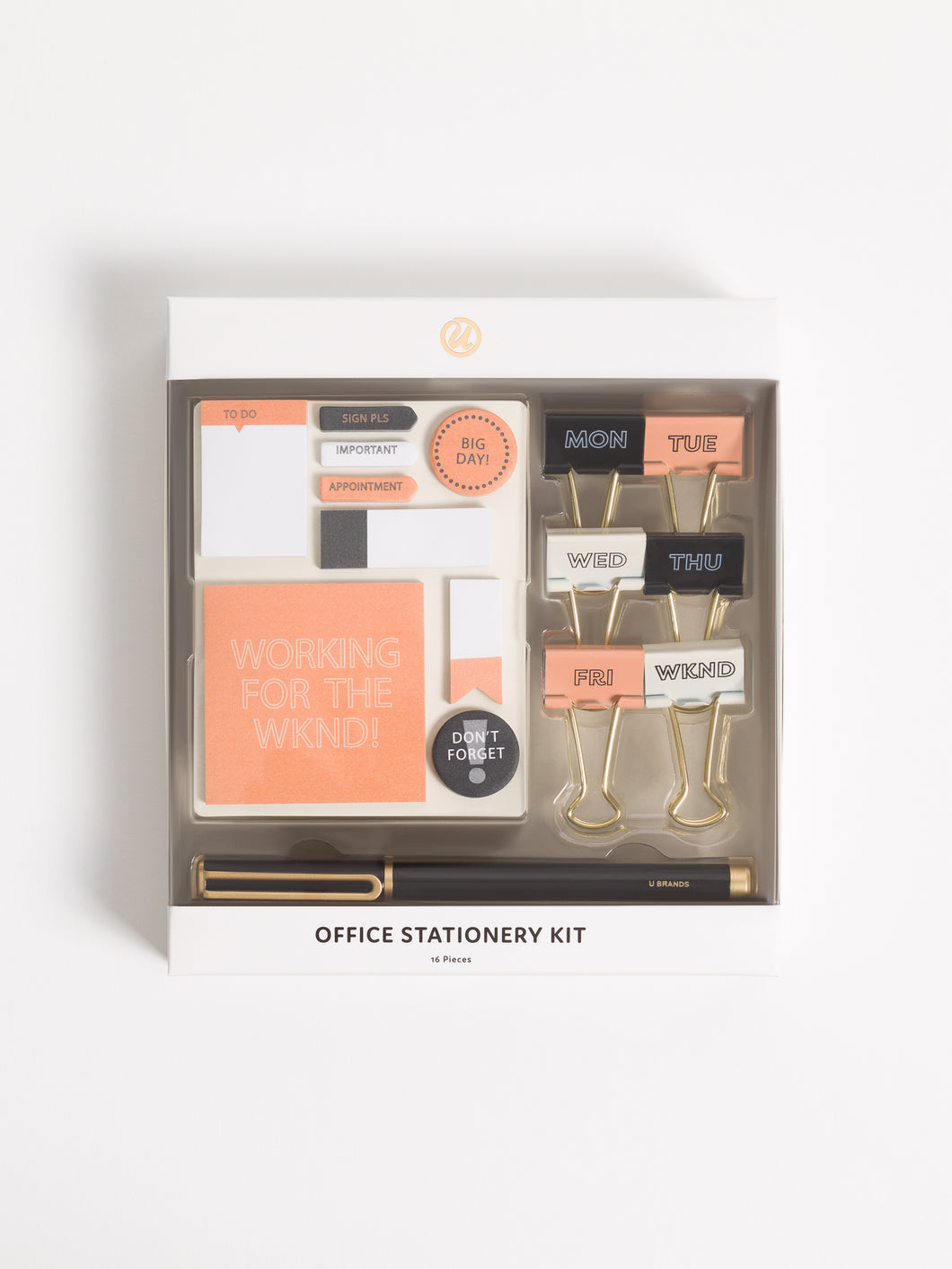 Work For the Weekend Office Kit, Set of 16