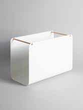Arc File Basket, White