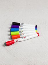 Magnetic Dry Erase Markers, Set of 6