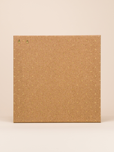 "Square Cork Bulletin Board, 14"" x 14"""
