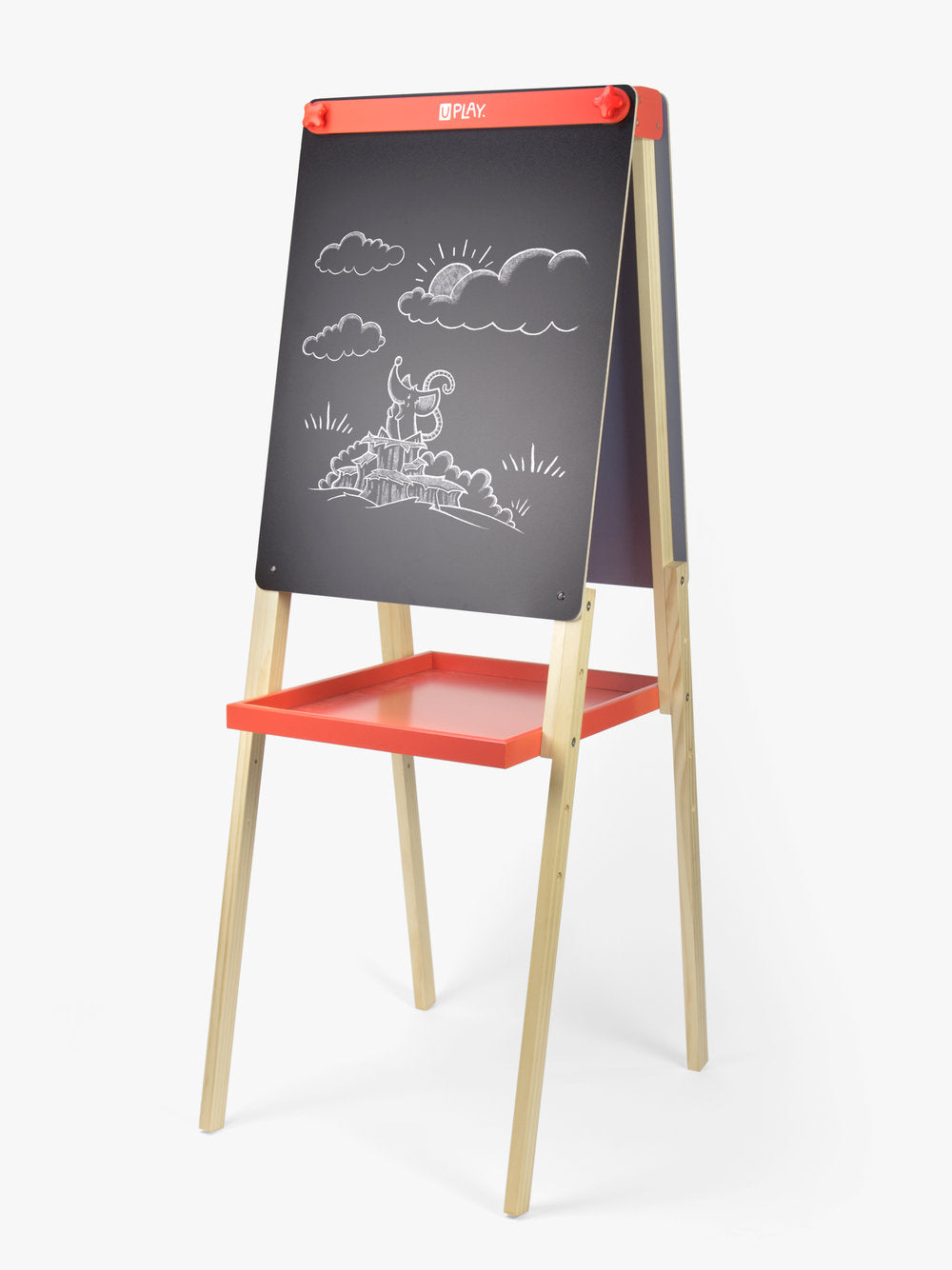 U Play Adjustable Childrens Art Easel