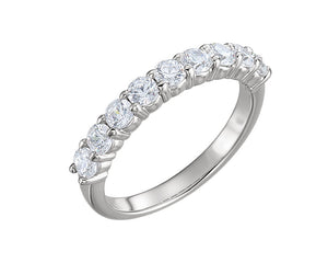 9-Stone Diamond Ring