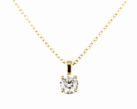 1/4 ct Diamond 14k solid gold Pendant