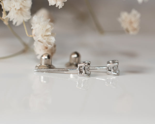 Diamond Studs for Baby 2.5mm