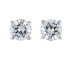 Large Diamond Studs