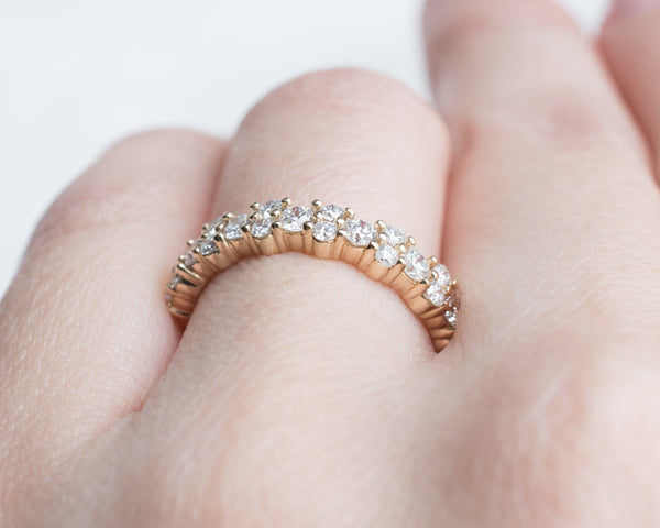 Diamond Garland Ring