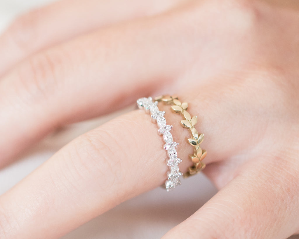 Petite Leaves Ring – Addison Everly Fine Jewelry