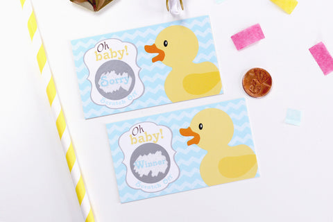 10 Baby Shower Scratch Off Cards